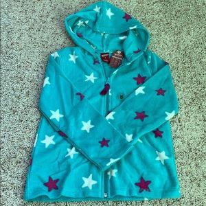 NEW Arizona Girls Fleece Zip Hoodie
